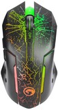 Мышь Marvo M207 7 colors-LED Black