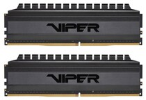Оперативная память DDR4 2x8GB/3200 Patriot Viper 4 Blackout (PVB416G320C6K)
