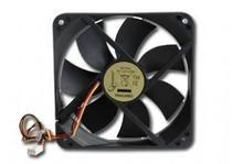 Вентилятор Gembird 120х120х25мм 3pin