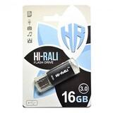 Флеш-накопитель USB3.0 16GB Hi-Rali Rocket Series Black (HI-16GB3VCBK)