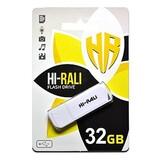 Флеш-накопитель USB 32GB Hi-Rali Taga Series White (HI-32GBTAGWH)