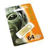 Флеш-накопитель USB 64GB Hi-Rali Shuttle Series Gold (HI-64GBSHGD)