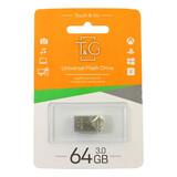 Флеш-накопитель USB 64GB T&G 109 Metal Series Silver (TG109-64G)