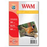 Фотобумага WWM (G180.F100)