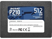 "SSD  512GB Patriot P210 2.5"" SATAIII TLC (P210S512G25)"