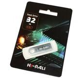 Флеш-накопитель USB 32GB Hi-Rali Shuttle Series Silver (HI-32GBSHSL)