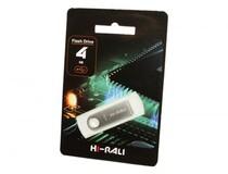 Флеш-накопитель USB 4GB Hi-Rali Shuttle Series Silver (HI-4GBSHSL)