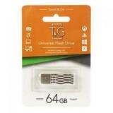 Флеш-накопитель USB 64GB T&G 103 Metal Series Silver (TG103-64G)