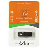 Флеш-накопитель USB 64GB T&G 117 Metal Series Black (TG117BK-64G)