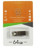Флеш-накопитель USB 64GB T&G 117 Metal Series Silver (TG117SL-64G)