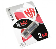 Флеш-накопитель USB 2GB Hi-Rali Corsair Series Silver (HI-2GBCORSL)