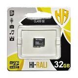 Карта памяти MicroSDXC  32GB Class 10 Hi-Rali (HI-32GBSDCL10-00)