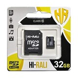 Карта памяти MicroSDXC  32GB Class 10 Hi-Rali + SD-adapter (HI-32GBSDCL10-01)