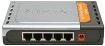 Коммутатор D-Link DES-1005D 5port UTP 10/ 100Mbps Metal case