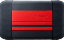 "HDD ext 2.5"" USB 2TB Apacer AC633 Black/Red (AP2TBAC633R-1)"