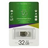 Флеш-накопитель USB3.0 32GB T&G 106 Metal Series Silver (TG106-32G3)