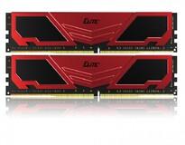 Оперативная память  DDR4 2x4GB/3200 Team Elite Plus Red/Black (TPRD48G3200HC22DC01)
