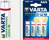 Аккумулятор VARTA Professional ACCU AAA 1000mAh BLI4 NI-MH
