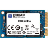 SSD-накопитель  256GB Kingston KC600 mSATA SATAIII 3D TLC (SKC600MS/256G)