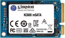 SSD-накопитель  512GB Kingston KC600 mSATA SATAIII 3D TLC (SKC600MS/512G)