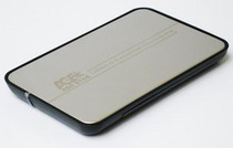 "Внешний карман USB2.0 для HDD SATA 2,5"" AgeStar SUB2A8  Silver"