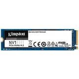 SSD-накопитель  500GB M.2 NVMe Kingston NV1 M.2 2280 PCIe Gen3.0 x4 3D TLC (SNVS/500G)