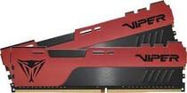 Оперативная память DDR4 2x8GB/3200 Patriot Viper Elite II Red (PVE2416G320C8K)