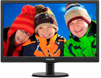"Philips 18.5"" TFT 193V5LSB2/62 LED Black"