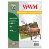 Фотобумага WWM (SG260.A4.100)