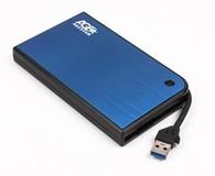"Внешний карман USB 3.0 для HDD SATA 2,5"" AgeStar 3UB 2A14 (Blue)"