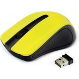 Мышь Gembird MUSW-101-Y wireless желтая