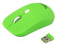 Мышь Gembird MUSW-102-G wireless зеленая