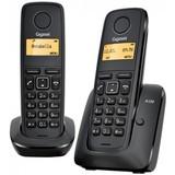 Радиотелефон DECT Gigaset A120 DUO Black