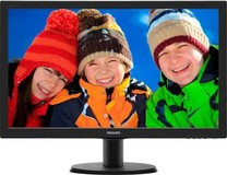 "Philips 23.6"" TFT 243V5LHAB/01 Black"