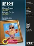 Фотобумага EPSON Glossy Photo Paper, глянцевая 225g/m2, 100х150 мм, 500л (C13S042549)
