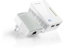Адаптер для создания сети Ethernet на основе электросети TL-WPA4220KIT(500Mbps, Wifi)