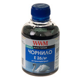 Чернила WWM EPSON Expression Premium XP-600/605/700 Black Pigment (E26/BP) 200 г