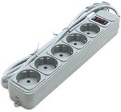 Фильтр питания Gembird SPG5-G-10G
