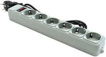 Фильтр питания Gembird SPG6-G-6G , 1,8 м кабель, 6 розеток