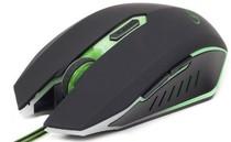 Мышь Gembird MUSG-001-G оптическая USB, зеленая