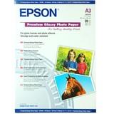 EPSON Premium Glossy Photo Paper, глянцевая, 250g/m2, A3, 20л (S041316)