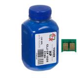 Тонер+чип АНК (1500124) HP CLJ CP1025 Cyan