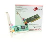 Звуковая карта ProLogix SC-8738N-4CN 4ch PCI