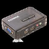 Коммутатор KVM Edimax EK-UAK2 USB на 2 ПК с кабелями