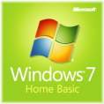MS Windows 7 Home Basic SP1 32-bit Russian DVD OEM (F2C-00884)