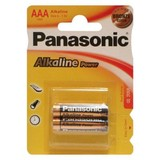Батарейка Panasonic ALKALINE POWER AAA BLI 2 (LR03REB/2BP	)