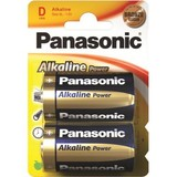 Батарейка Panasonic ALKALINE POWER D BLI 2 (LR20REB/2BP)