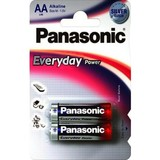 Батарейка Panasonic EVERYDAY POWER AA BLI 2 ALKALINE (LR6REE/2BR)