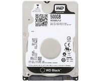 "Жесткий диск HDD 2.5"" SATA-3  500Gb WD, 32Mb, 7200rpm, Black (WD5000LPLX)"
