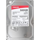 Жесткий диск HDD SATA 500GB Toshiba P300 7200rpm 64MB (HDWD105UZSVA)